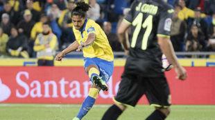 Lemos (21), en un partido de la temporada 2016-17