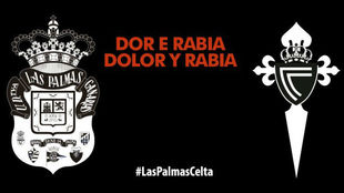La UD Las Palmas y el Celta mostrarán su apoyo a la trágica...