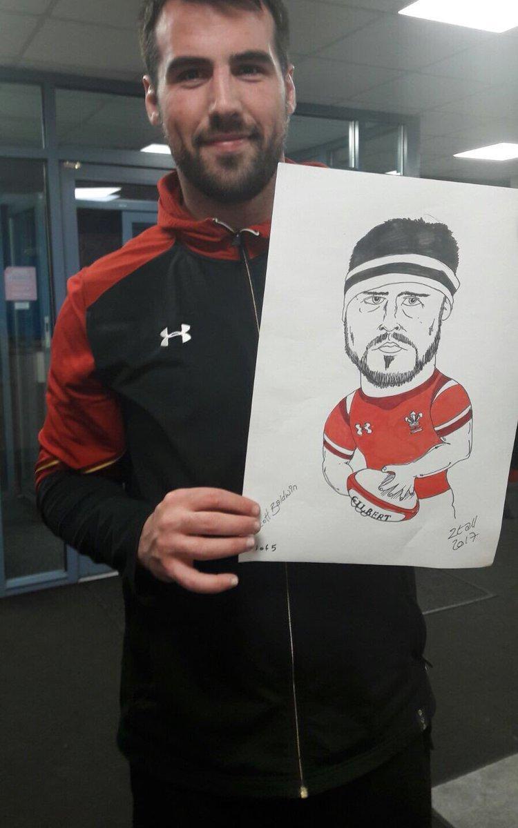 Scott Baldwin, jugador de País de Gales