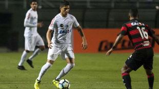 Partidos entre el Santos y el Vitória