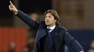 Rastelli, en un partido del Cagliari