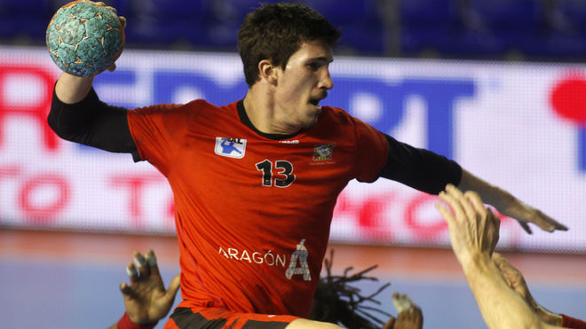 Álvaro Ruiz, en su etapa como jugador del Huesca.