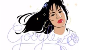 Selena, el nuevo 'doodle' de Google