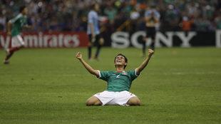 Así se festejó en el Estadio Azteca.