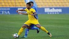 Borja Lázaro, durante un partido.