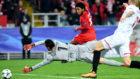 Promes marca un gol al Sevilla en Mosc�.