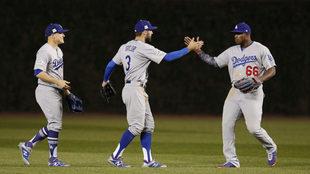 Los Dodgers están a un juego de la Serie Mundial.