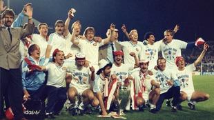 El PSV conquistó la Copa de Europa en 1988.