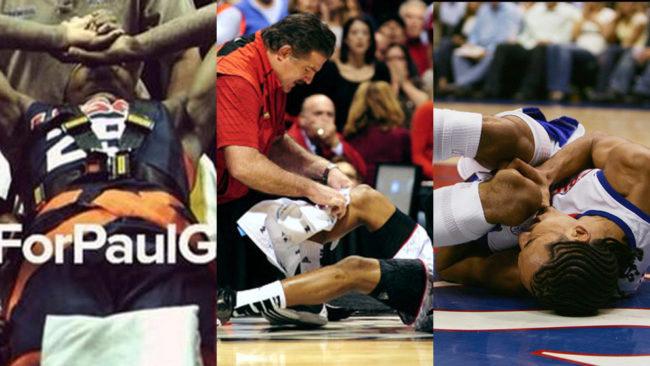 El museo de los horrores de las lesiones en baloncesto: George, 'El Cid' Ware, Llull...