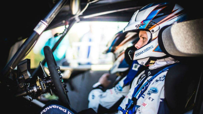 El estonio, al volante del Fiesta de M-Sport con el que secunda a...