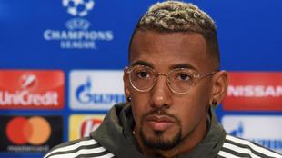 Boateng (29), en una conferencia de prensa
