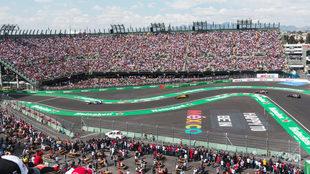 El Autódromo de los Hermanos Rodríguez es la casa del Gran Premio de...