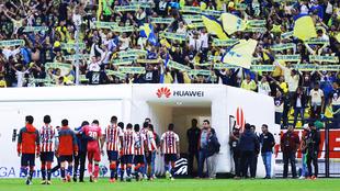 Las Chivas no supieron mantener la ventaja ante el América