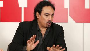 Hugo Sánchez (59), durante una entrevista con MARCA