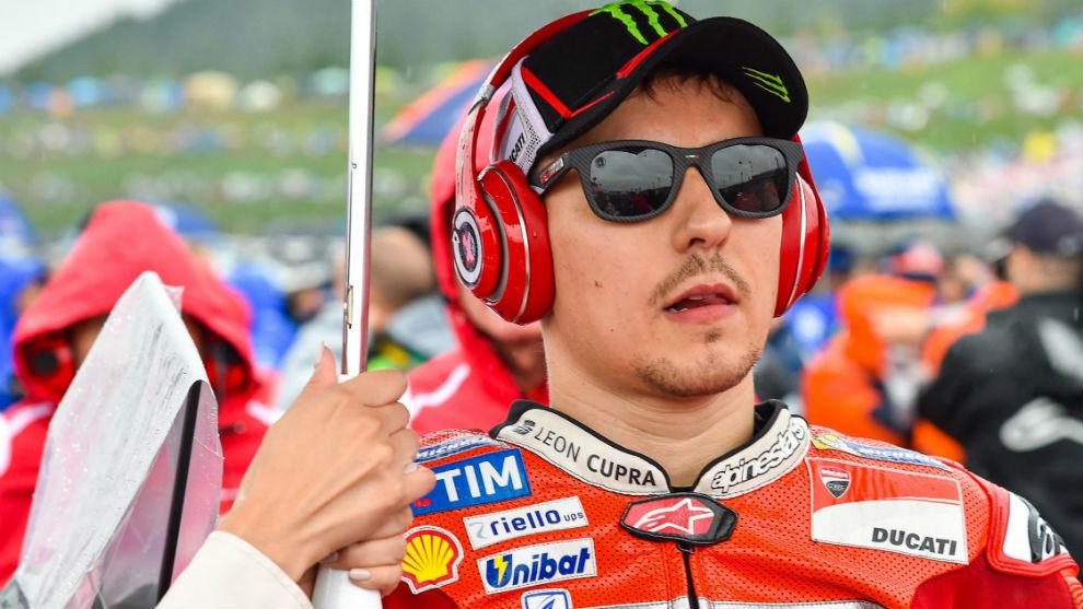 Jorge Lorenzo, en el gran Premio de Japón