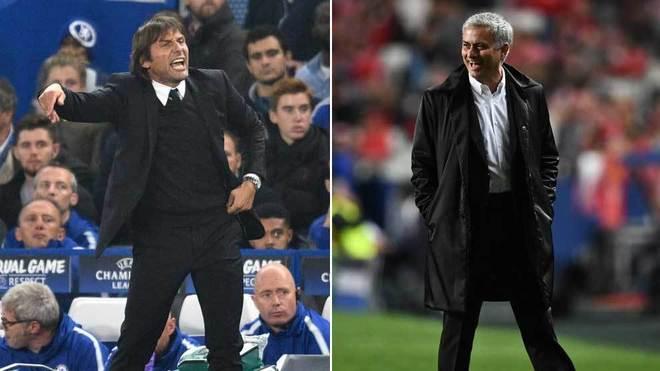 """Conte: """"Lo que tiene que hacer Mourinho es mirarse a sí mismo, no a otros"""""""