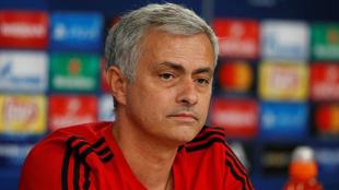 Mourinho (54), durante una conferencia de prensa