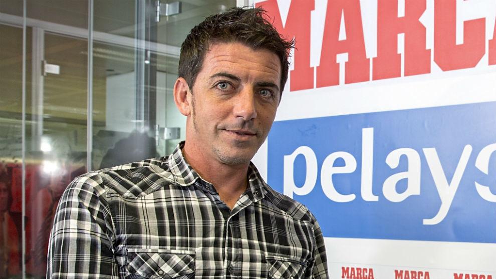 El ex jugador Javi Guerrero (40)