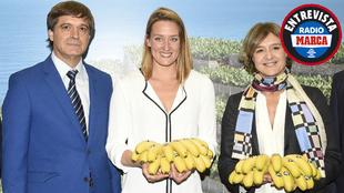 Mireia Belmonte, embajadora de Platano de Canarias