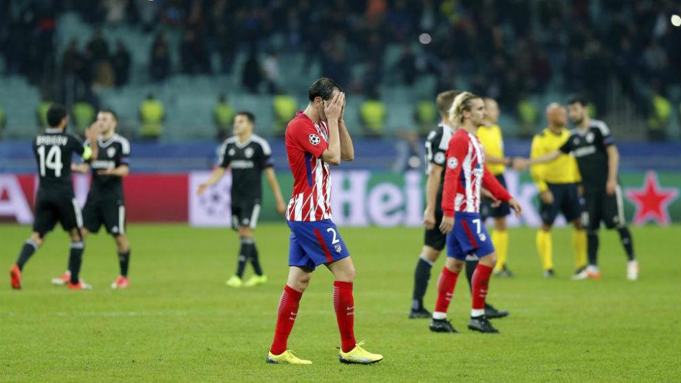 El Atlético mantiene sus aspiraciones en Champions