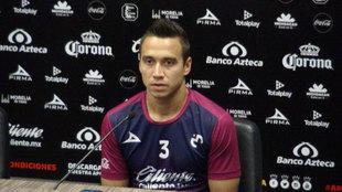 Gerardo Rodríguez en conferencia de prensa.