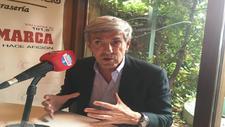 Jos� Moro durante la entrevista en en Radrio MARCA Le�n.