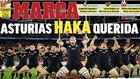 Los All Blacks reciben hoy en Oviedo el Princesa de Asturias de los deportes