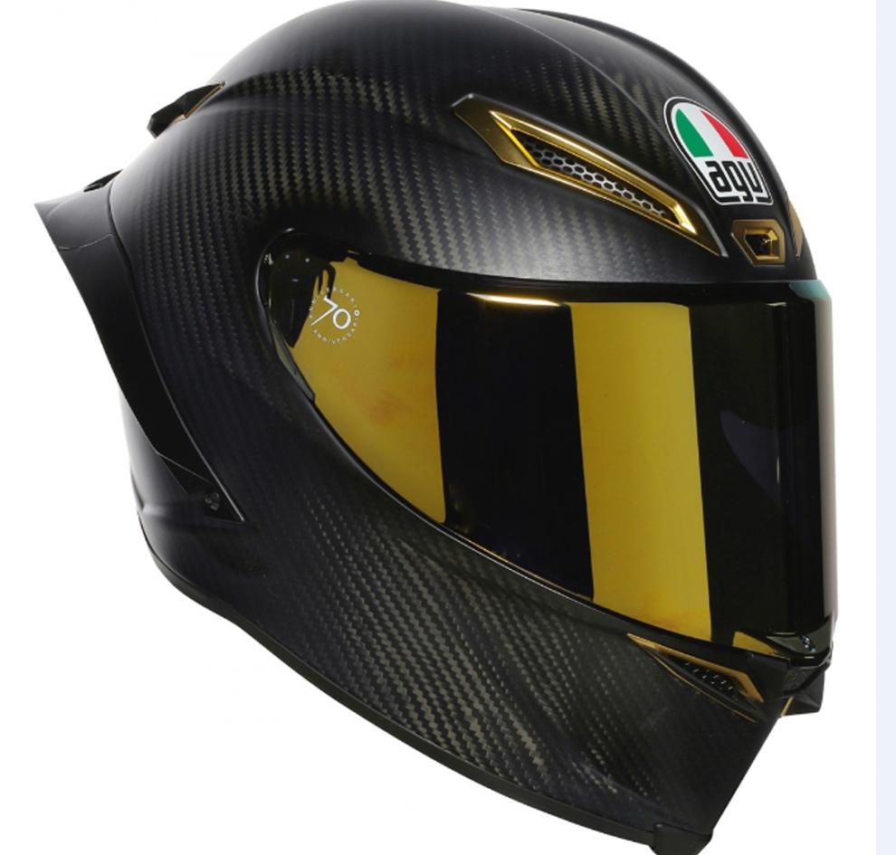9e2521098948c Los tres cascos de moto más exclusivos del mundo