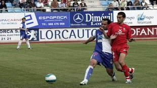 El Tenerife sí se midió en 2007 al Lorca Deportiva Club de Fútbol