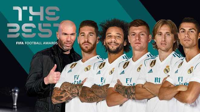 Marca: რონალდუ The Best-ის პრიზს ზედიზედ მეორედ მოიგებს
