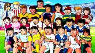 Personajes principales de la serie Campeones, conocida popularmente...