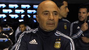Sampaoli, previo a un partido de Argentina