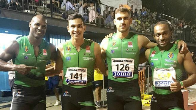 Yunier Pérez, Arián Téllez, Javier López y Patrick Chinedú, el...