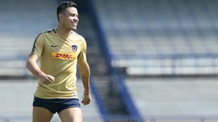 Pablo Barrera vuelve a las canchas tras seis meses de recuperación