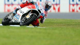 Andrea Dovizioso, en el circuito de Phillip Island