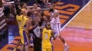 Un estacazo flagrante desata la bronca de la noche en la NBA