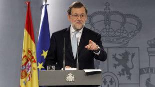 Rajoy, en directo tras activar el 155 para detener la independencia de Cataluña
