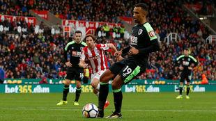 Stanislas marca de penalti el 0-2 del Bournemouth.