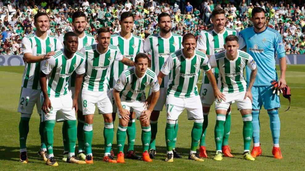 Once Del Betis Frente Al Alaves