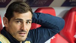 Casillas, con el Oporto.
