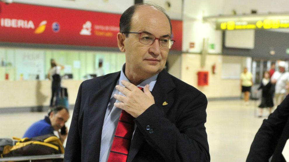 El presidente del Sevilla, José Castro.