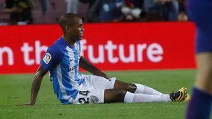 Rolan se lesionó en el Camp Nou.