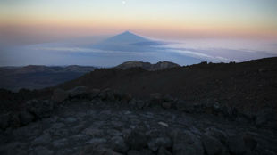 Vista general del Teide