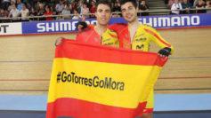 Albert Torres y Sebastián Mora.
