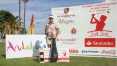 Nataia Escuriola, campeona de España por tercera vez consecutiva.