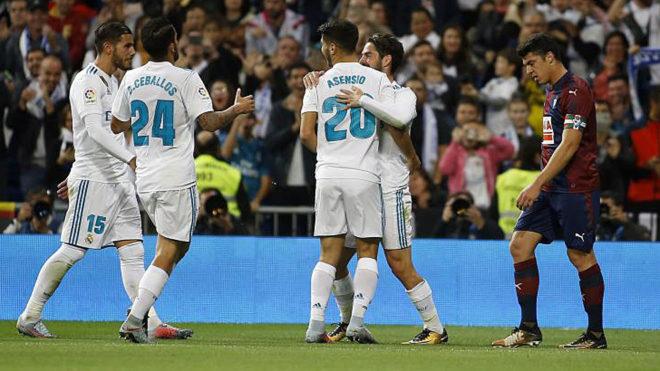 7e642a249 Real Madrid s young guns shine as Benzema and Cristiano Ronaldo struggle