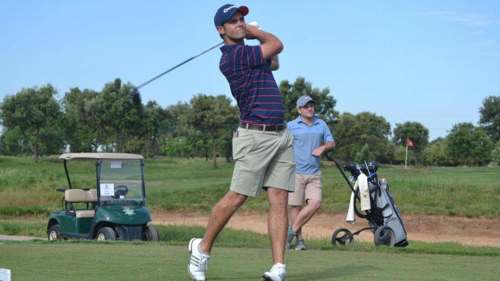 El golfista español Adriá Arnaus.