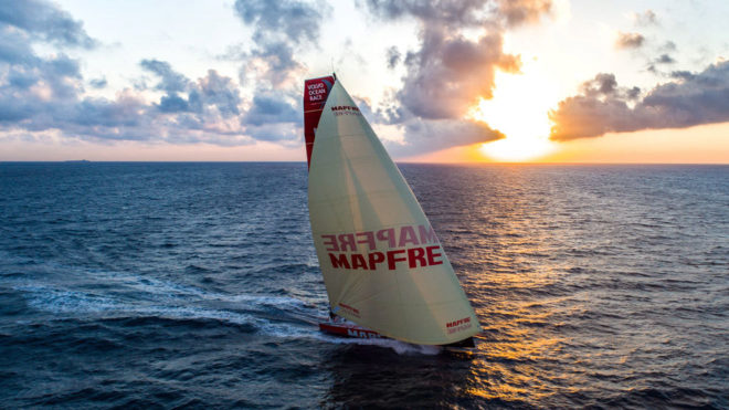 El MAPFRE, en la primera etapa de la Volvo Ocean Race