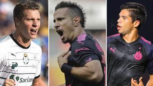 Los tres jugadores nominados