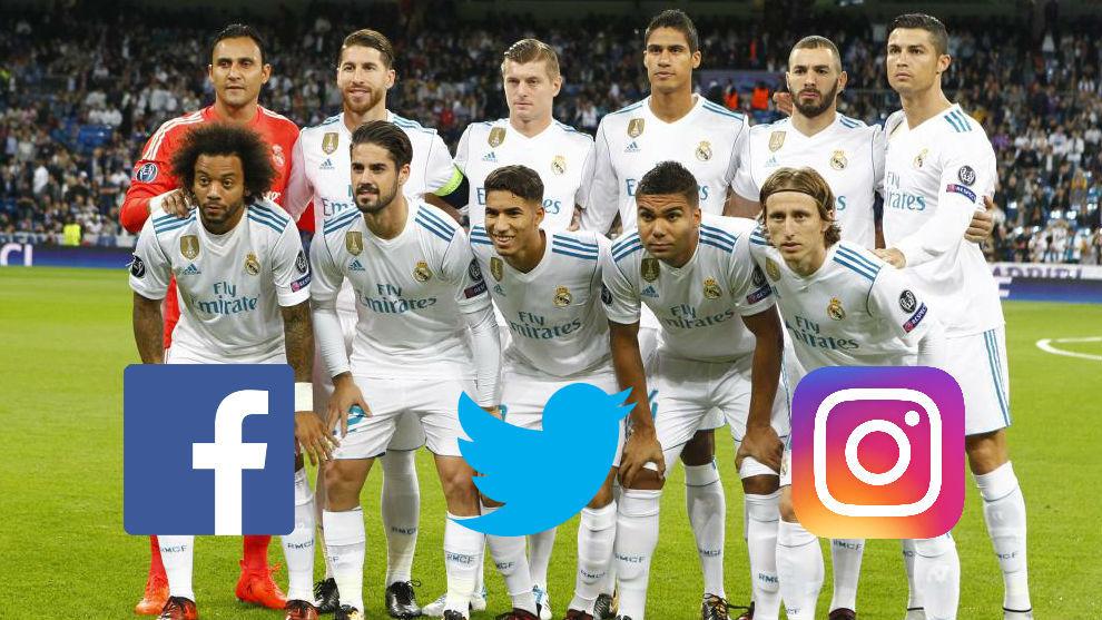 99e2e4c9ee0e0 Real Madrid  Así están las redes sociales de los jugadores del Real ...